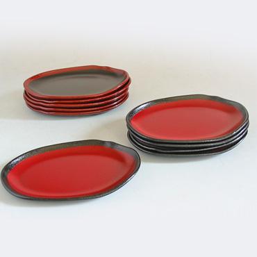 もてなし銘々皿 渕錆 取り皿・小皿