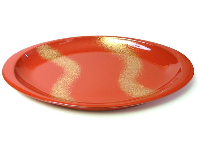 オーバル盛皿 星流(製造中止) 漆塗り 中皿