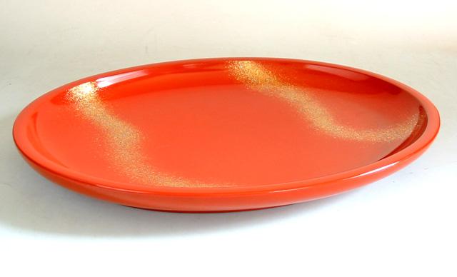 パーティー盛皿 朱 星流(製造中止) 漆塗り 中皿