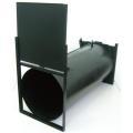 【送料、代引手数料無料】 サカエ式 ブラックBOX 68D(両開)ドラム式 動物捕獲器 :BBD1<栄工業>