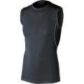 おたふく 冷感・消臭パワーストレッチノースリーブクルーネックシャツ ブラック :JW-627<おたふく手袋>