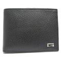 グッチ メンズ レザー(革) 二つ折り財布 コインケース付 黒 GUCCI