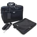 プラダ メンズ ナイロン ラップトップケース 書類バッグ(ブリーフケース) 黒 2VE407 PRADA
