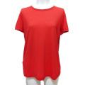 プラダ クルーネック 薄手半袖カットソー(Tシャツ) 赤 #XXL PRADA