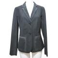 プラダ 薄手ウール ジャケット グラデーションブラック #40 PRADA