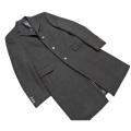プラダ メンズ ウールコート 黒 #50R PRADA