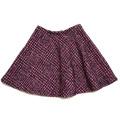 プラダ ツイード フレアースカート  ピンク #38 PRADA