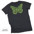 ルシアンペラフィネ メンズ スカル 半袖Tシャツ 黒 #S lucien pellat-finet