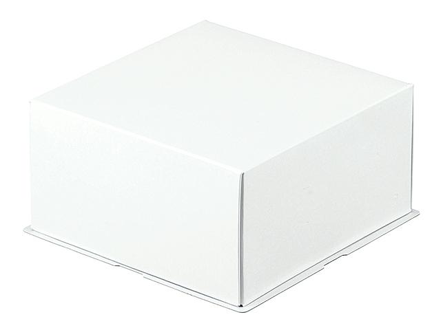 シャインホワイト 4号 蓋底セット(白レース付) (10枚入)