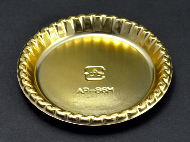 ケーキトレー APー86M ゴールド (100枚入)