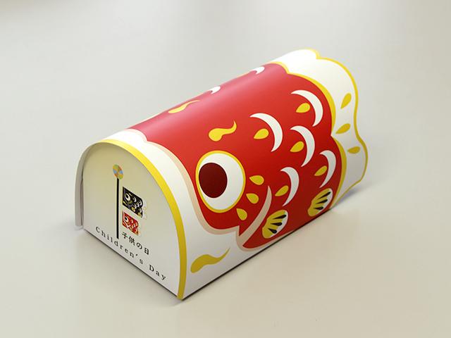 46092 ミニギフト・こい 赤 (5枚入)