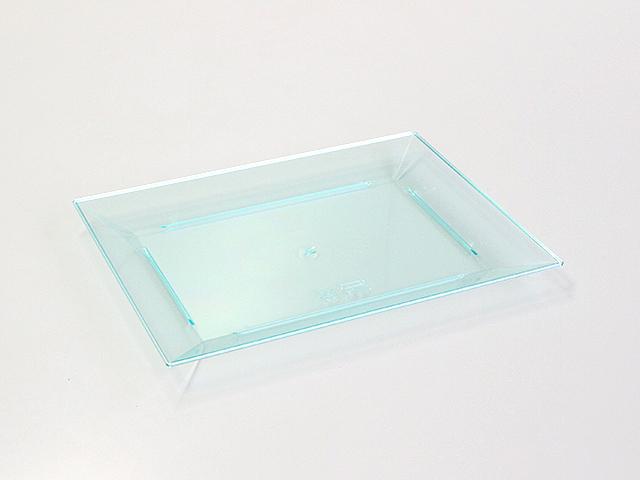ニシキ 角皿(特小) スカイブルー (20枚入)