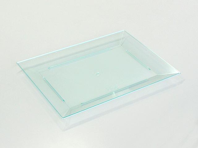 ニシキ 角皿(中) スカイブルー (10枚入)