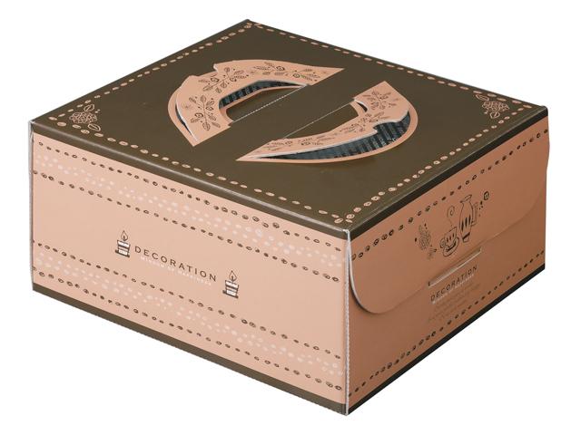 ホールケーキが映えるハンドボックス