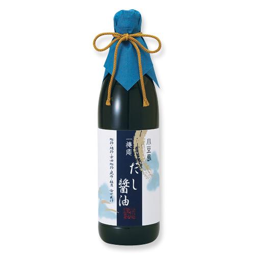 0004-3  一徳庵だし醤油(900ml)