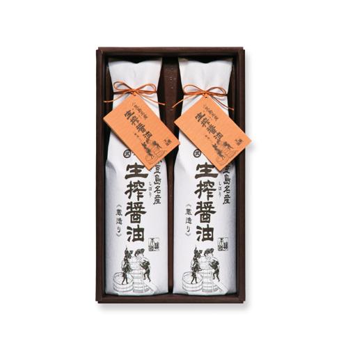 生搾蔵めぐり(TK-20) 生搾醤油720ml×2