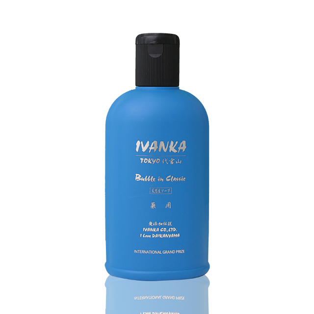 IVANKA バブルインクラシックシャンプー 300ml 「全ての髪質用」