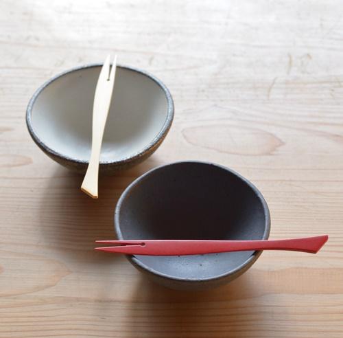 竹製さかなフォークS