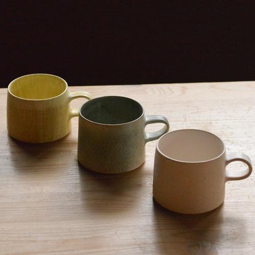 徳山久見子 型染めマグカップ