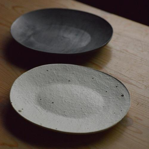 村上直子 koban皿(楕円皿)