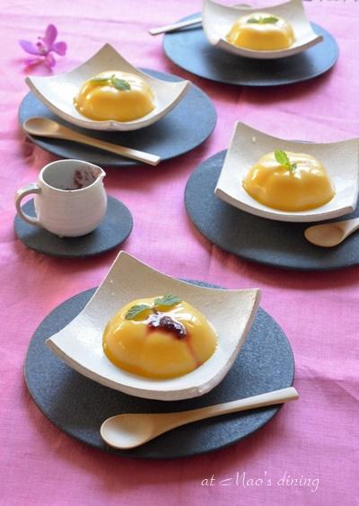 竹製茶碗蒸し(プリン)スプーン