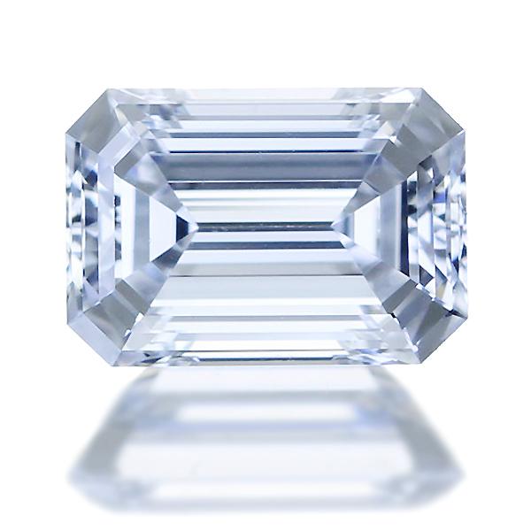 0.701ct D IF エメラルドカット ダイヤモンド ルース※中央宝石研究所ソーティングシート付き