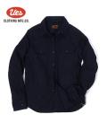 UES ウエス インディゴ染色|チェックワークシャツ『インディゴヘビーネルシャツ』【アメカジ・ワーク】501655