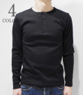 AVIREX DAILY WEAR HENLY NECK LONG SLEEVE TEE