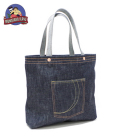 MOMOTARO JEANS 銅丹LABEL DENIM TOTE BAG
