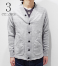 BARNS LOOP WHEEL SWEAT CARDIGAN