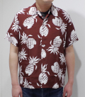 DUKE KAHANAMOKU デュークカハナモク Special Short Sleeve『DUKE'S PINEAPPLE』【洋柄・アロハ】DK36201