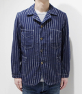 HEAD LIGHT 8oz SPECIAL WOVEN STRIPE COVERALL