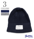 PHERROW'S NAVAL  COTTON WATCH CAP