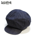 SUGAR CANE 8PANELS DENIM CASQUETTE