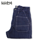 SUGAR CANE Fictio�� Romance 9oz. WABASH STRIPE 8POCKETS SHORTS
