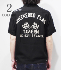 STYLE EYES CHECKRED FLAG TAVERN BOWLING SHIRT