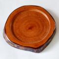 木のコースター 皮付き