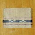 草木染め手織ミンサーテーブルセンター ベージュ