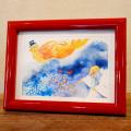 熊谷溢夫のデザイン画(額入り・プリント) 『星砂の由来』