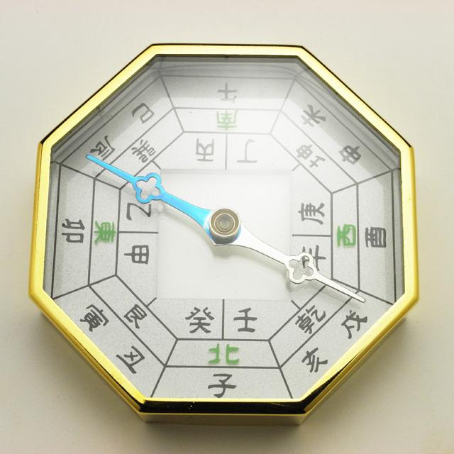 方位磁石・八角(金色) (f50075)