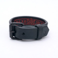 Black Backle Wristband (no stitch)