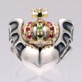 Coroneted Barbara Ring Gold