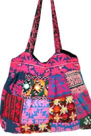 バッグ■ミラーワーク刺繍BAG1