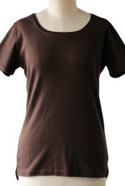 インナーTシャツブラウン