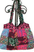 バッグ■ミラーワーク刺繍BAG5