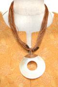 アクセサリー■大きなシェル(貝)のネックレス