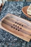 木製ソープディッシュ
