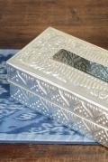アルミ製ティッシュボックス
