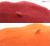 シンプルベレー帽(赤・橙)