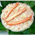 富山名産・かに(カニ・蟹)の押し寿司を販売